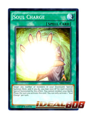 Soul Charge - SR01-EN033 - Common - 1st Edition