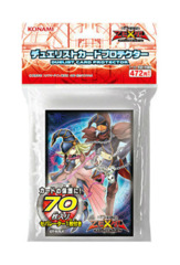 ZeXal Gagaga Girl & Magician Sleeves (70ct) + Gagaga Cowboy/Support Deck Divider on Ideal808
