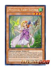 Mystical Fairy Elfuria - CBLZ-EN085 - Secret Rare - 1st Edition