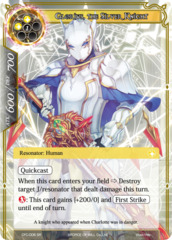 Glorius, the Silver Knight [CFC-006 SR (Textured Foil)] English