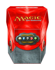 Magic the Gathering Commander Deck Box - Mana Red on Ideal808