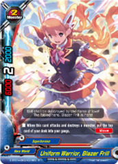 Uniform Warrior, Blazer Frill [D-BT01A-EB02/0015EN R (FOIL)] English
