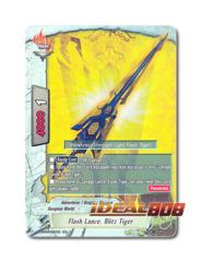 Flash Lance, Blitz Tiger [H-BT03/0019EN RR] English Foil
