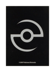 Pokemon Professor Cup 60ct. Sleeves - Pokeball Black on Ideal808