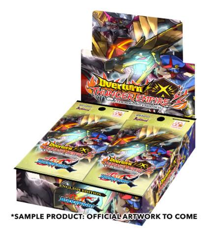 BFE-X-BT03 Overturn! Thunder Empire! (English) Future Card Buddyfight X Booster Box * PRE-ORDER Ships Oct.20