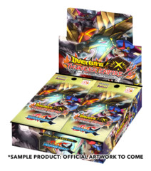 BFE-X-BT03 Overturn! Thunder Empire! (English) Future Card Buddyfight X Booster Box * PRE-ORDER Ships Oct.20