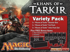 Magic KTK Variety Pack - Get x1 Khans of Tarkir Booster Box, x1 Fat Pack, x1 Intro Pack Set + FREE Bonus (Supply Kit) on Ideal808