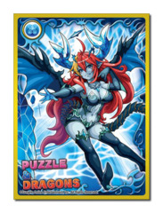 Puzzle & Dragons [Hera-Is] No.232 Movic Chara Large Sleeves (65ct)