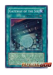 Gateway of the Six - SOVR-EN089 - Super Rare - 1st Edition