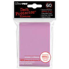 Ultra Pro Small Sleeves 60ct. - Pink on Ideal808