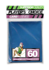 Player's Choice Standard Card Sleeves - Metallic Blue