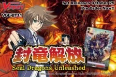 BT11 Seal Dragons Unleashed (English) Cardfight Vanguard Booster Box on Ideal808