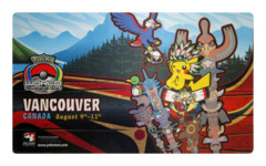Pokemon World Championships - Playmat - 2013 Vancouver, Canada feat.Pikachu & Meowth