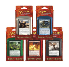 All 5 Born of the Gods Intro Packs