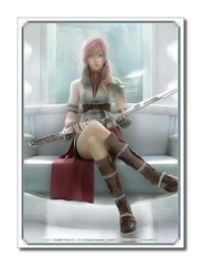 Final Fantasy [FFXIII Lightning Ver.2] Square Enix Large Sleeve (60ct) on Ideal808