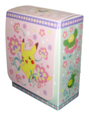 Pokemon Center Compact Deck Box - Pikachu & Mew, Pink & Green on Ideal808