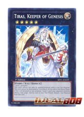 Tiras, Keeper of Genesis - BP01-EN029 - Starfoil Rare - 1st Edition on Ideal808