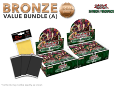 Yugioh Invasion: Vengeance Bundle (A) Bronze - Get x2 Booster Boxes + Bonus Items (See Description) * PRE-ORDER Ships Nov.4