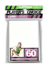 Player's Choice Standard Card Sleeves - White