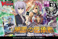 TD13 Successor of the Sacred Regalia (English) Cardfight Vanguard Trial Deck on Ideal808