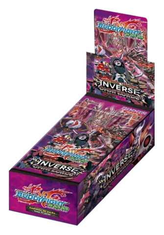 BFE-H-PP01 Terror of the Inverse Omni Lords (English) Future Card Buddyfight Perfect Pack Booster Box
