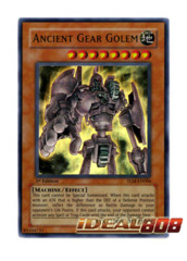 Ancient Gear Golem - Ultra - TLM-EN006 (Unlimited) on Ideal808