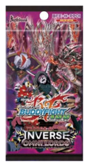 BFE-H-PP01 Terror of the Inverse Omni Lords (English) Future Card Buddyfight Perfect Pack Booster Pack