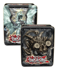 Yugioh 2013 CT10 Wave 2 Collector's Tin Case - Six (6) Tempest, Dragon Ruler-Storms & Six (6) Redox, Dragon Ruler-Boulders on Ideal808