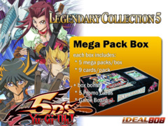 Legendary Collection 5: 5D's Mega Pack Box ** Pre-Order Ships October 24 on Ideal808