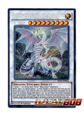 Blue-Eyes Spirit Dragon - SHVI-EN052 - Secret Rare - 1st Edition