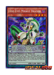Odd-Eyes Mirage Dragon - DRL3-EN001 - Secret Rare