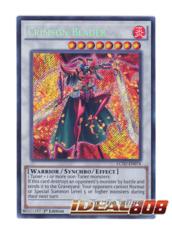 Crimson Blader - LC5D-EN074 - Secret Rare - 1st Edition