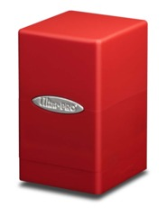 Ultra Pro Satin Tower Deck Box - Red (#84174)