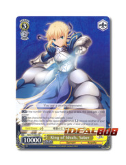 King of Ideals, Saber [FZ/S17-E002 RR] English