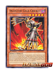 Inzektor Giga-Cricket - Rare - GAOV-EN031 (1st Edition) on Ideal808