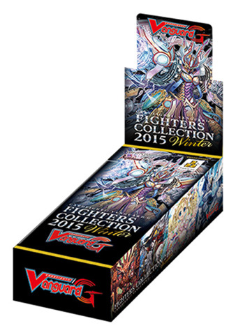 G-FC02 Fighters Collection 2015 Winter (English) Cardfight Vanguard Booster Box