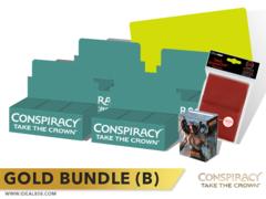 MTGCN2 Bundle (B) Gold - Get x4 Conspiracy 2: Take the Crown Booster Box + FREE Bonus Items