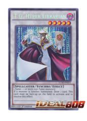 T.G. Hyper Librarian - LC5D-EN211 - Secret Rare - 1st Edition