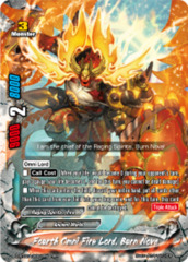 Fourth Omni Fire Lord, Burn Nova [D-BT02A/0001EN RRR (FOIL)] English