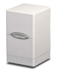 Ultra Pro Satin Tower Deck Box - White (#84172)