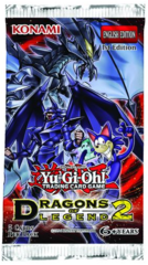 Yugioh Dragons of Legend 2 (1st Edition) Booster Pack