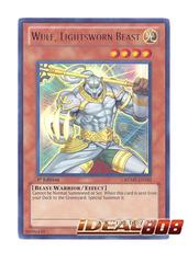 Wulf, Lightsworn Beast - RYMP-EN103 - Ultra Rare - 1st Edition