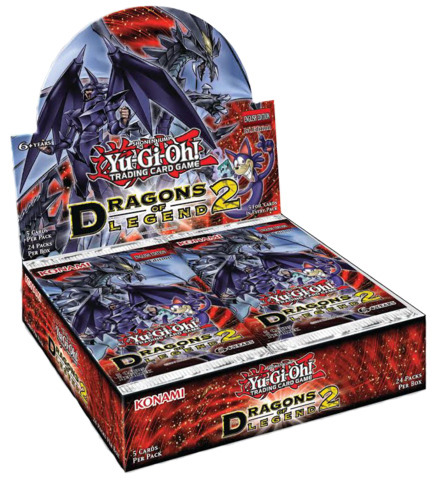 Yugioh Dragons of Legend 2 (1st Edition) Booster Box