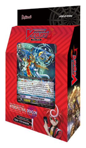 G-TD06 Rallying Call of the  Interspectral Dragon (English) Cardfight Vanguard G-Trial Deck