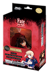 Fate/stay night [UBW: Unlimited Blade Works] (English) Weiss Schwarz Trial Deck