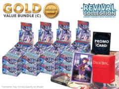 Cardfight Vanguard G-RC01 Bundle (C) Gold - Get x8 Revival Collection Booster Box + FREE Bonus Items
