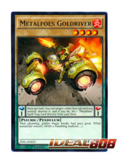 Metalfoes Goldriver - TDIL-EN023 - Rare - 1st Edition