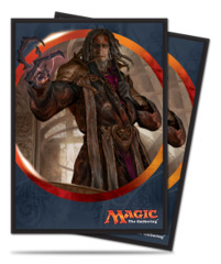 Magic the Gathering Aether Revolt Ultra Pro Sleeve 80ct - Tezzeret the Schemer (#86487)