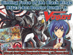 Cardfight Vanguard BT12 Bundle (A) - Get x2 Binding Force of the Black Rings Booster Box + Cf-Vanguard Sleeves on Ideal808