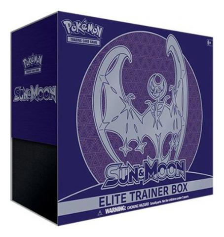 SM Sun & Moon (SM01) Pokemon Elite Trainer Box - Lunala